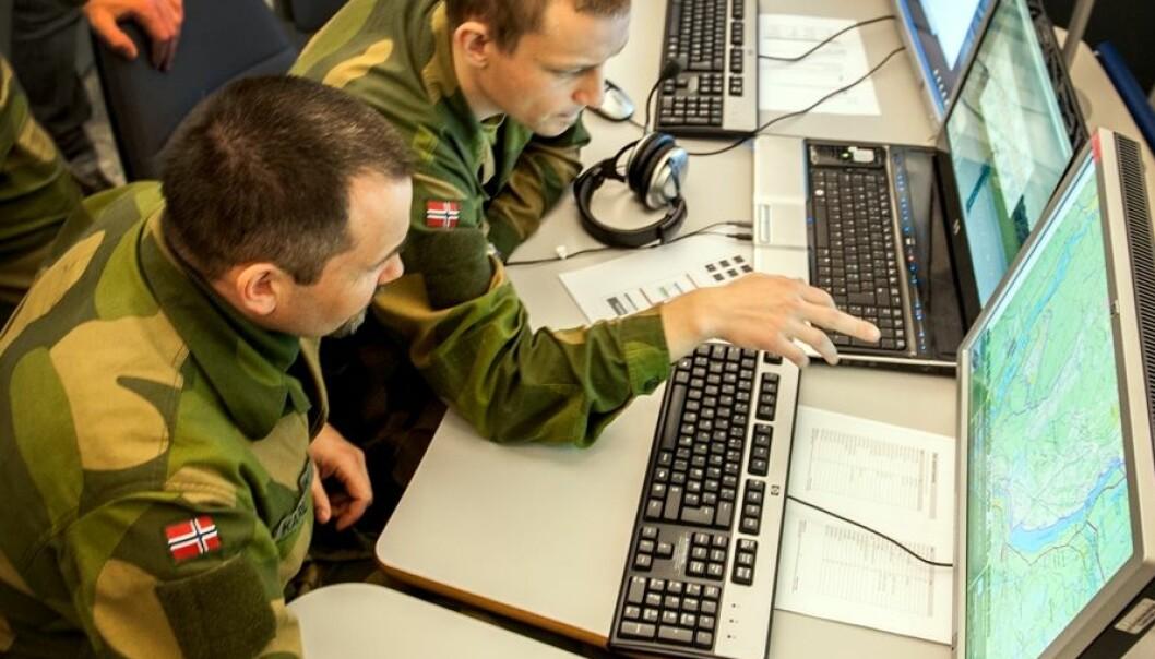 Liten fare for cyberterror