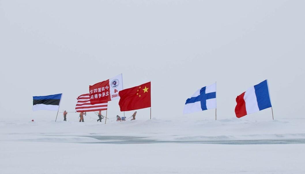I Arktis må Kina søke innflytelse med andre metoder enn i Afrika. Her ved internasjonalt samarbeid i regi av The Chinese Arctic and Antarctic Administration (CHINARE).
