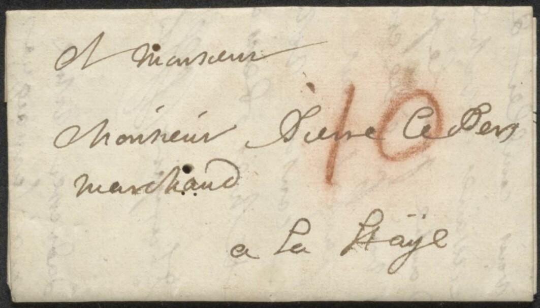 Dette brevet har aldri vært åpnet, og ble lukket for godt over 300 år siden. Men det kan allikevel leses.