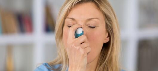 Astma ga ikke høyere covid-19-risiko