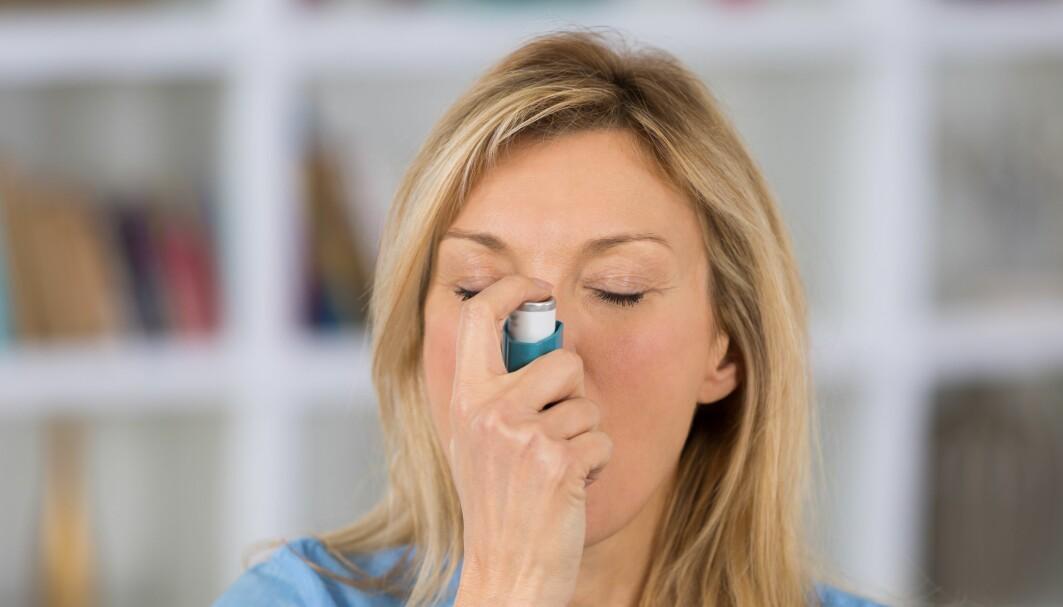 Folk med astma, kan ha vært ekstra nøye med smittevern. Men andre ting kan også bidra til å forklare resultatene i en ny studie.