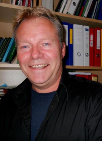 - Kastrerte sanggutter mistet ikke håret, forteller forsker Per Jakobsen (Foto: UiB)