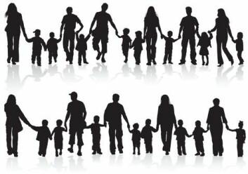 Det har skjedd store endringer i hvordan folk lever i familier de siste årene. Ofte har velferdsstatens tilpasninger til familieformene kommet etter. (Illustrasjonfoto: www.colourbox.com)