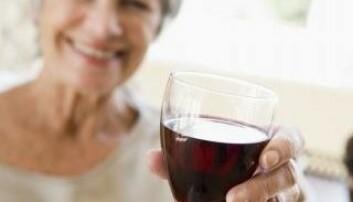 Eldre kvinner drikker mer