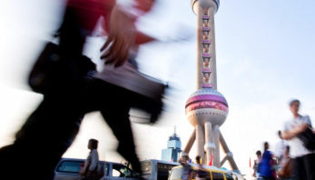 Shanghai i Kina. (Illustrasjonsfoto: iStock)