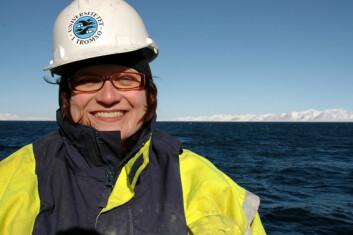 """""""Katrine Husum er maringeolog ved UiT og en av toktlederne under Polarårets SciencePub-satsning"""""""