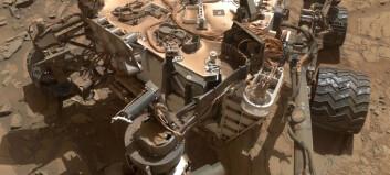 Curiosity har vært på Mars i nesten ni år. Hvor langt har den kjørt?