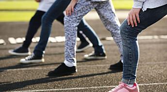 Fysisk aktivitet ga ungdomsskoleelever bedre psykisk helse