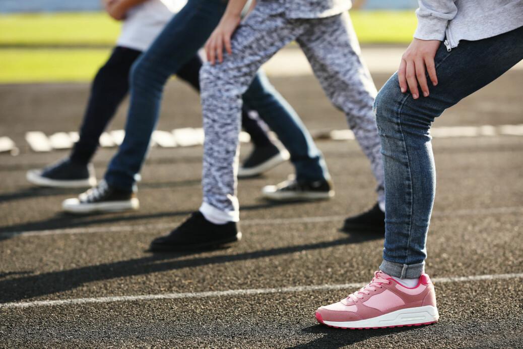 Jo mer guttene forbedret sin prestasjon på en løpetest i løpet av ett år, desto færre psykiske plager viste de.