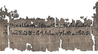 3500 år gammel papyrus avslører oppskrift på mumifisering