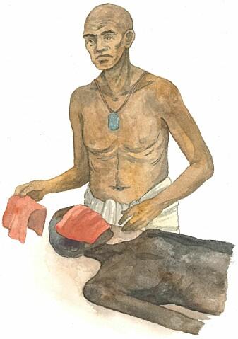 Balsamering ble regnet som e et hellig ritual i gamle Egypt.