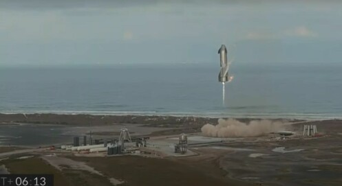 Rom-raketten eksploderte. Likevel var testen vellykket