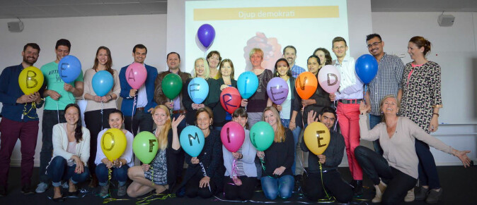 Fra en kickoff på mentorprogrammet MINE (MINE – Mentorship, Inspiration, Networking and Education) i Malmø som forskerne har gjort studien rundt.