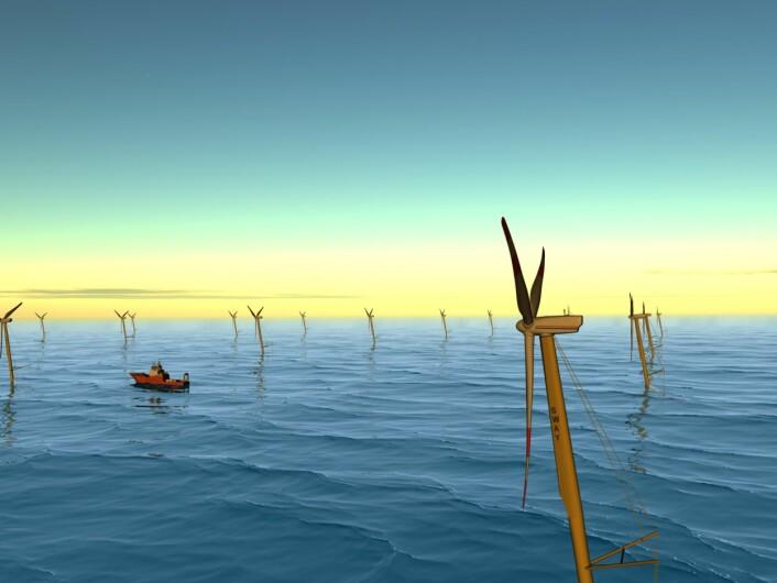 Kraftproduksjon fra vindenergi til havs er en ny og stor industriell mulighet for Norge og norsk industri.