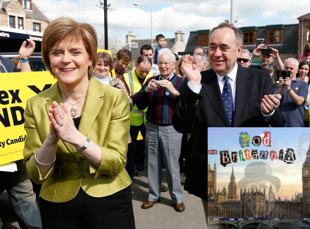 Nicola Sturgeon og Alex Salmond jobbet nært sammen i mange år, og var også gode venner. Nå har det oppstått en bitter strid som ryster skotsk politikk.