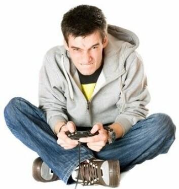Det er en negative sammenheng mellom tiden de gutter bruker på gaming og deres karakternivå. (Foto: Colorbox)