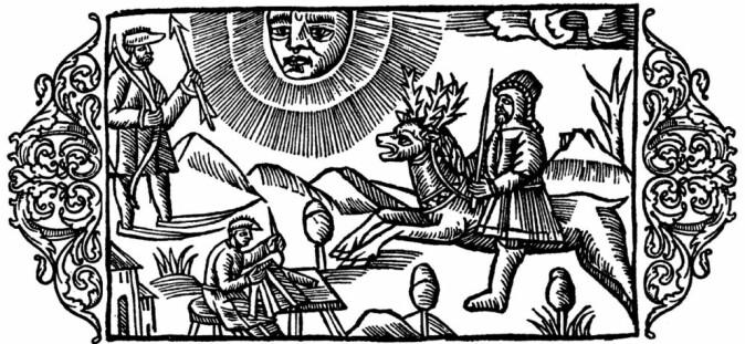 I halvannet år reiser Olaus Magnus rundt i Norden for å samle inn historier.