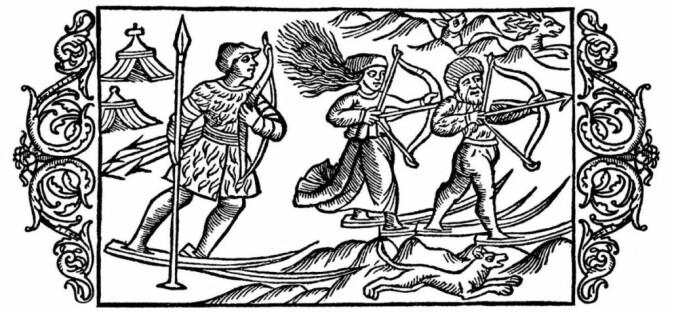 – Olaus Magnus sin beskrivelse av samer er den første større kjente fremstillingen av samer, sier historiker Rune Blix Hagen.