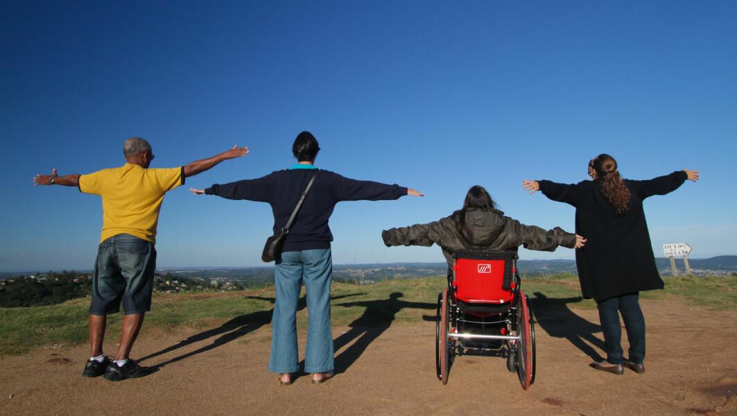 – Vi glemmer at folk med nedsatt funksjonsevne har akkurat like rettigheter som alle oss andre, sier professor Siri Eriksen.