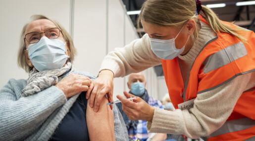 Etikken var viktig for hvem som skulle få vaksine først i Norge