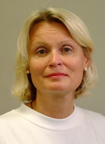Ja takk, begge deler, er tannbørstefilosofien til professor Gunhild Strand. (Foto: UiB)