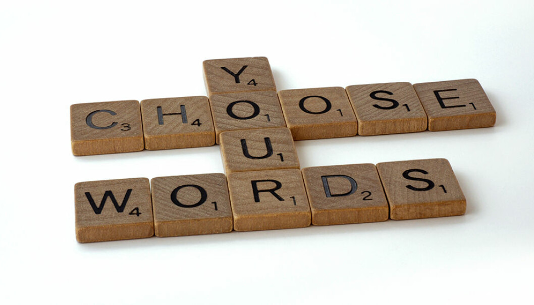 You can make decisions on how to use words, even though it is not necessarily easy, says philosopher Joey Pollock.