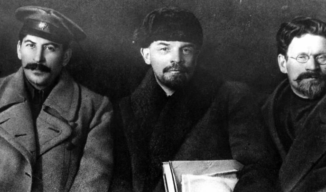 Den russiske revolusjonens ledere i 1919.