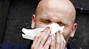 Færre ble forkjølet – salg av nesespray sank i fjor