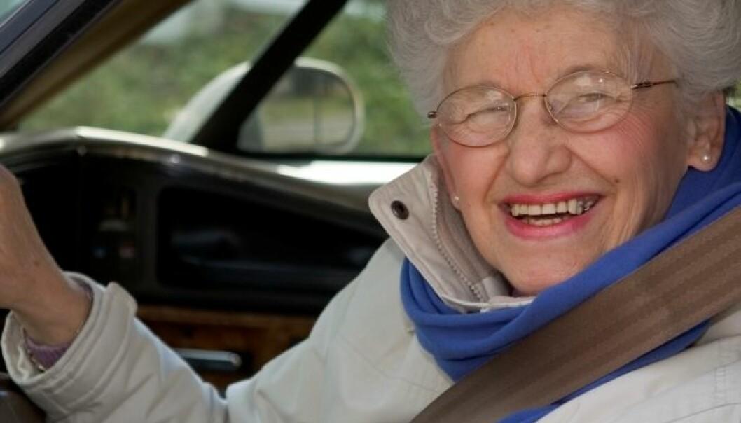 Eldre er trege, men trygge i trafikken