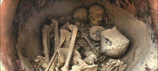 Disse 4000 år gamle knoklene ble funnet i et palass i Spania. Paret kan ha tilhørt eliten i en eldgammel, mystisk kultur