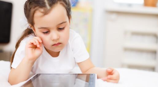 Digitale bildebøker kan skade barns evne til å forstå historien de leser