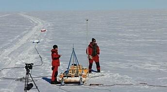 Oppdaget ukjent nettverk av kanaler under isen i Antarktis