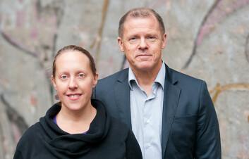 HiOA-forskere Ivar Lødemel og Erika Gubrium forsker på fattigdom og skam.