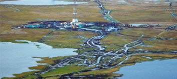 """""""For sent: Tundra ødelagt av oljeutvinning."""""""