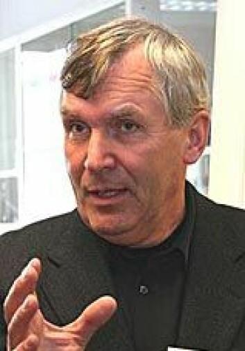 """""""Professor Tor-Henning Iversen, Institutt for biologi, NTNU. Foto: Norsk romsenter"""""""