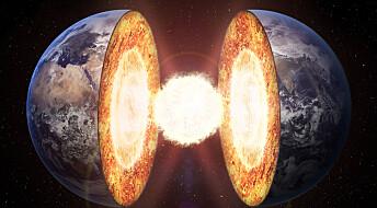 Den ene halvdelen av jordens indre har tapt mer varme enn den andre de siste 400 millioner årene