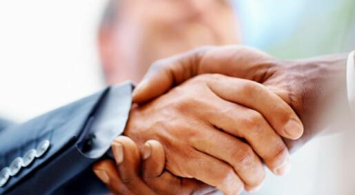 Skjøre vennskap i business