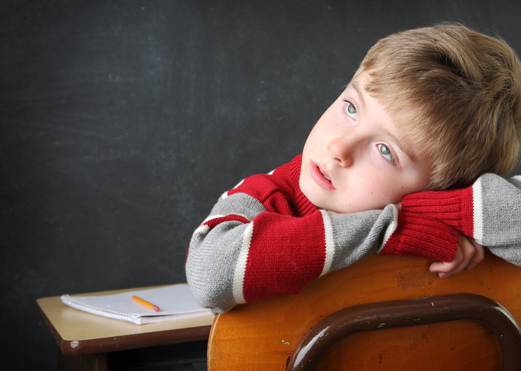 Barn er flinkere til å dagdrømme enn voksne, ifølge forskere fra USA. Vi blir dårligere til det jo eldre vi blir.
