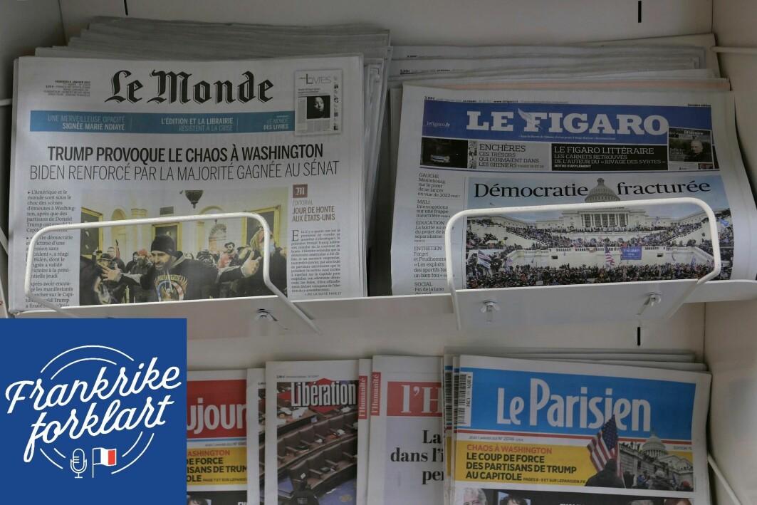 I september i fjor signerte over 100 franske medier og mediegrupper et åpent brev til franskmennene, publisert i satiremagasinet Charlie Hebdo.