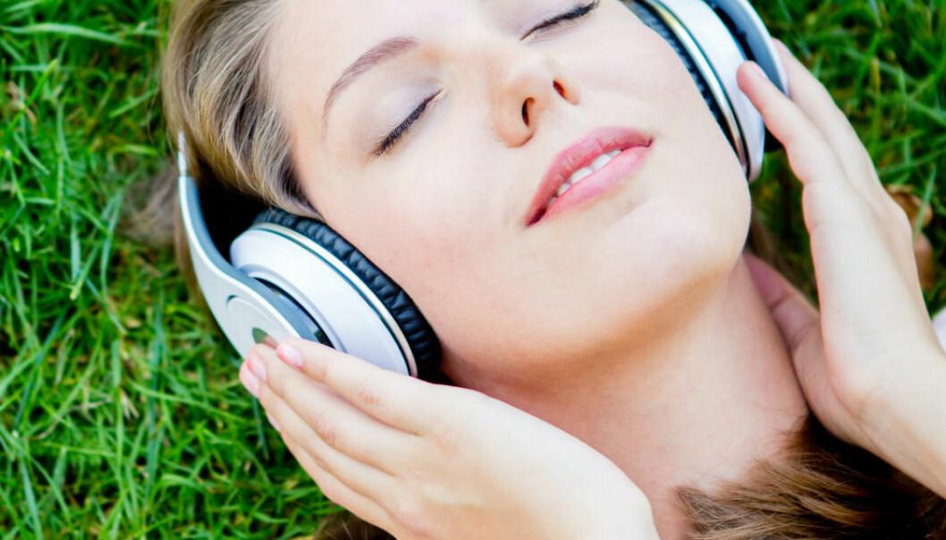 Musikk lindrer smerte