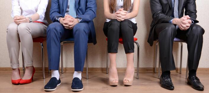 Stereotypi-tenking vil si at vi setter hverandre i bås avhengig av blant annet kjønn, etnisitet og alder. Det  kan være negativt for bedriftsledere som skal rekruttere nye medarbeidere. (Foto: Microstock)