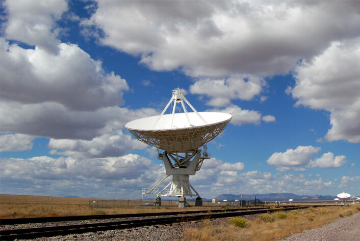Speilteleskopene er rettet mot nattehimmelen og gir oss ny kunnskap om universet. (Foto: Wikimedia Commons)