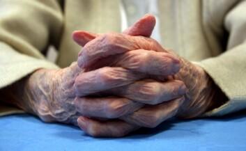 Hele 8 prosent av alle hjemmeboende eldre er i risikosonen for underernæring. (Illustrasjonsfoto: www.colourbox.no)