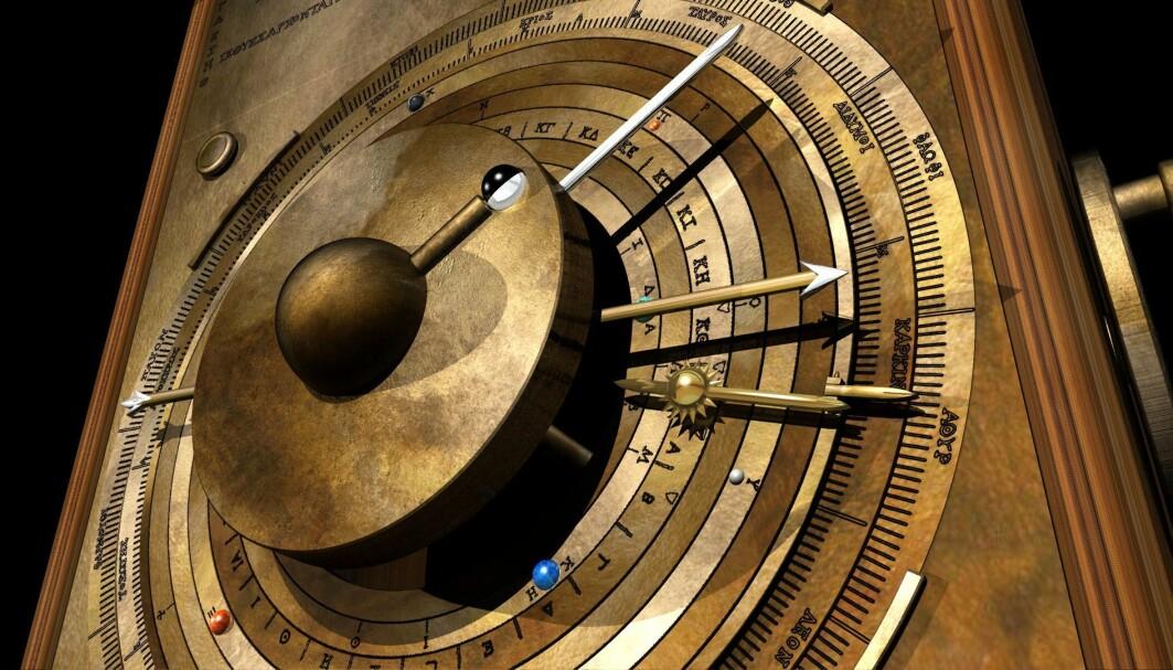 Den gamle maskinen viste hvordan planetene beveget seg i forhold til jorden og kunne blant annet forutsi solformørkelser.