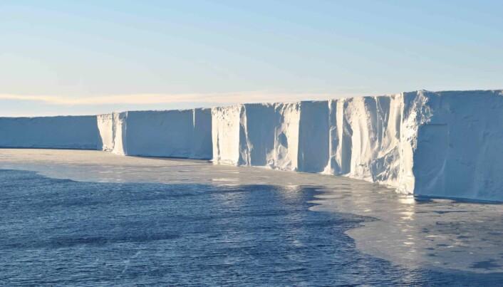 Isfjell eller isbrem? I «Grand Canyon» er forholdene så store at det er vanskelig å gjette.