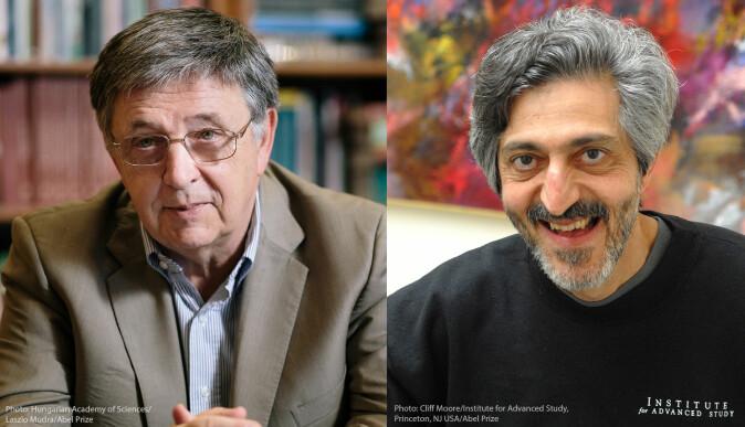 Abelprisvinnerne László Lovász og Avi Wigderson har bidratt til å hviske ut grensene mellom matematikk og datavitenskap.