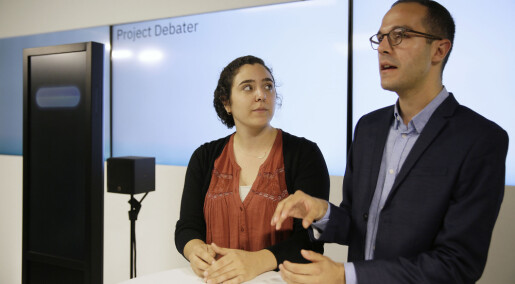 Forskere har laget en kunstig intelligens som kan debattere med mennesker