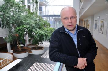 Jan-Magnus Kvamme ved Det helsevitenskapelige fakultet, UiT, har funnet at moderat overvekt er optimal for hjemmeboende eldre.