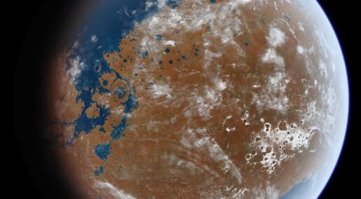 Hvor ble det av vannet på Mars? Mye finnes fremdeles i bakken, lukket inn i stein, ifølge ny studie