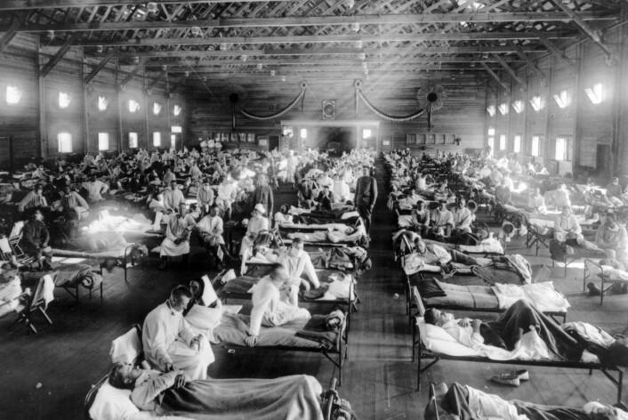 Spanskesyken regnes som en av tidenes verste pandemier. Forskere frykter nå at et lab-forsøk i USA skal få fatale konsekvenser. (Foto: AFIP's Museum of Health & Medicine)